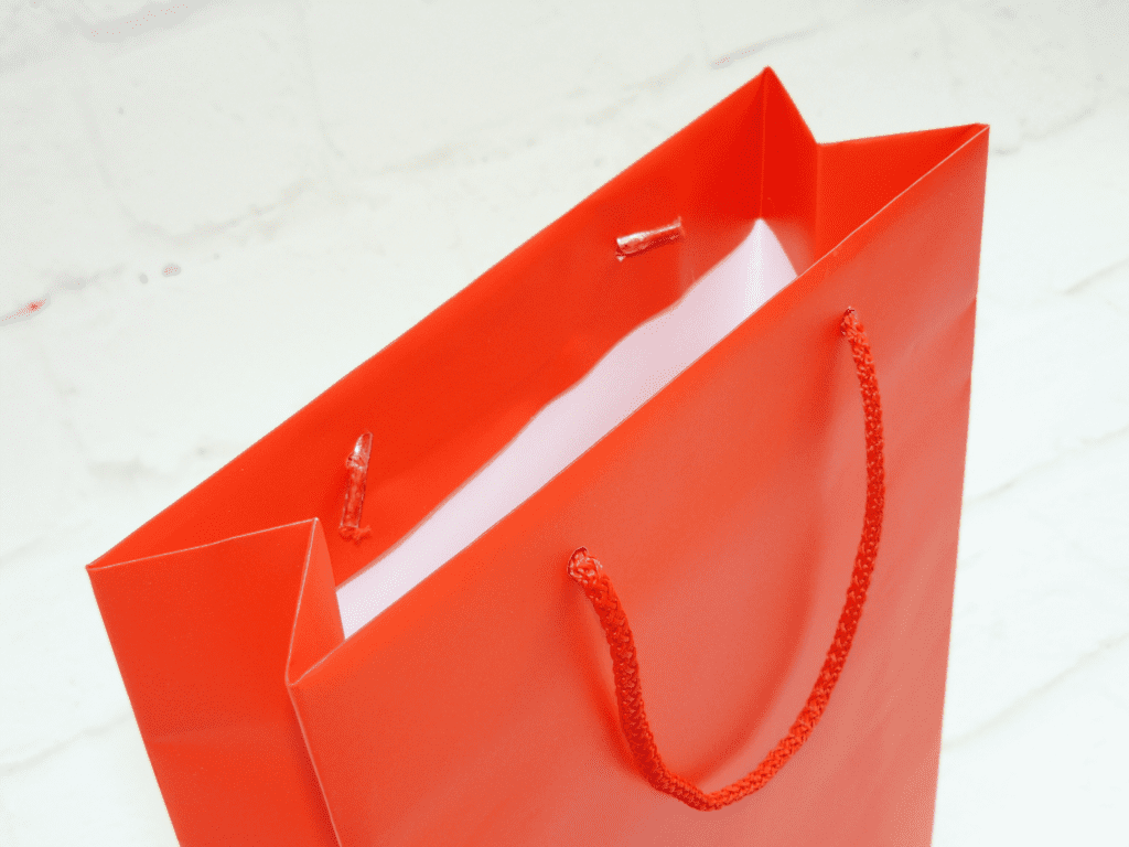 uchwyt torby, sznurek do toreb, torby laminowane z nadrukiem, torby ekskluzywne z nadrukiem