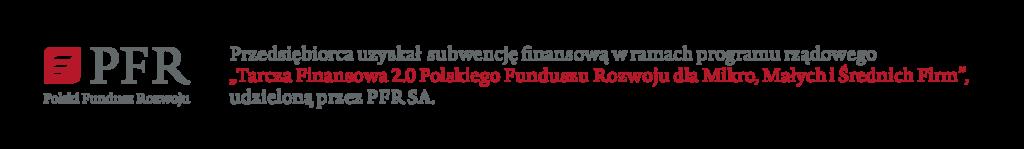 informacja o otrzymaniu dofinansowania